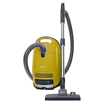 Miele Complete C3 Limited Edition Canister Vacuum in Yellow