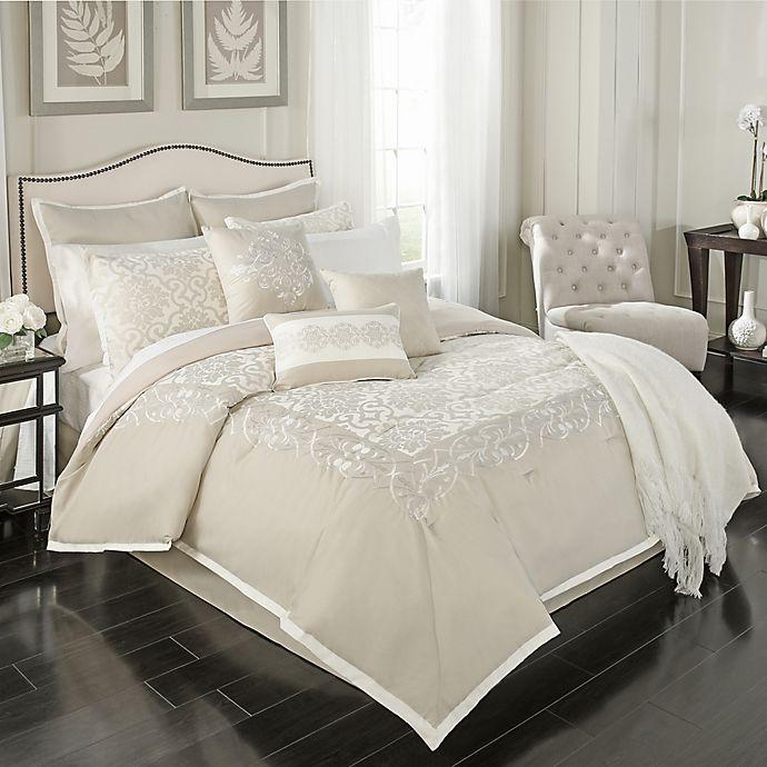 Alternate image 1 for Declan 14-Piece California King Comforter Set in Natural