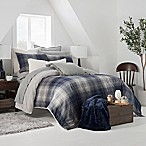UGG® Redding Reversible King Comforter Set in Navy/Grey