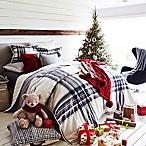 UGG® Tarni Reversible Full/Queen Comforter Set in Charcoal/White
