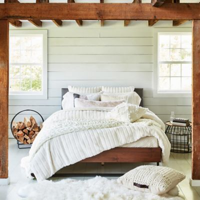 Ugg 174 Alpine Faux Fur Comforter Set Bed Bath Amp Beyond