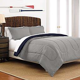Martex Two-Tone Reversible Comforter Set