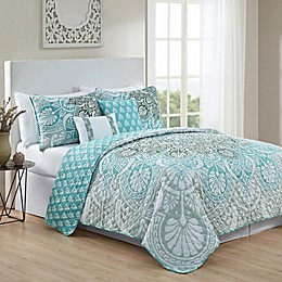 VCNY Home Tory Reversible Quilt Set