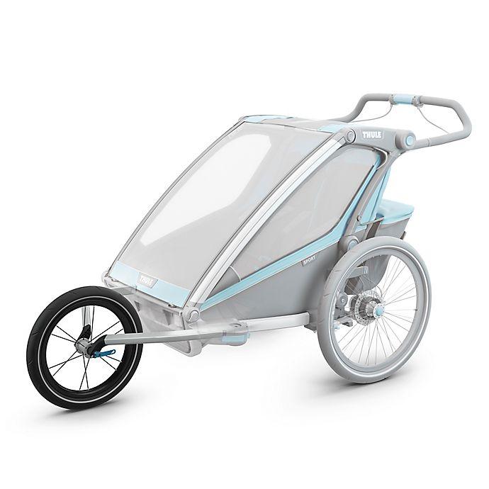Alternate image 1 for Thule® Chariot Lite/Cross Jog Kit 2 in Black/Silver