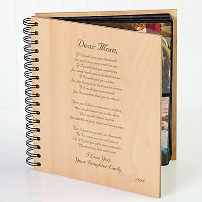 Dear Mom Poem Photo Album