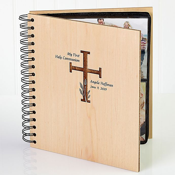 Alternate image 1 for Holy Communion Engraved Photo Album