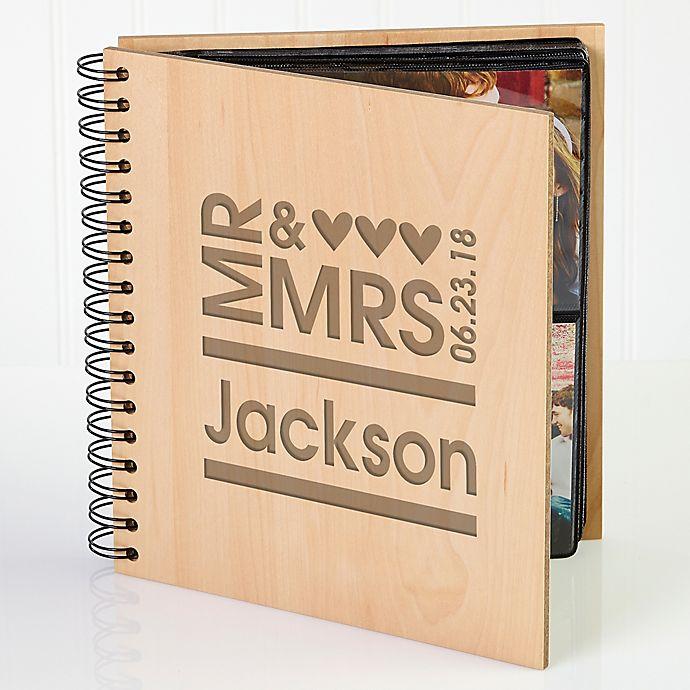 Alternate image 1 for Mr. & Mrs. Photo Album