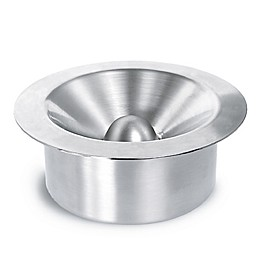 Blomus Ashtray with Slat Cover in Matte Stainless Steel