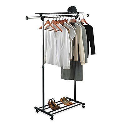 hanging clothes rack | Bed Bath & Beyond