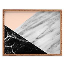 Deny Designs Marble Collage by Emanuela Carratoni Serving Tray