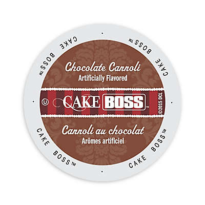 Cake BOSS™ Chocolate Cannoli Coffee for Single Serve Coffee Makers