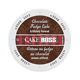 Cake BOSS™ Chocolate Fudge Cake Coffee for Single Serve Coffee Makers