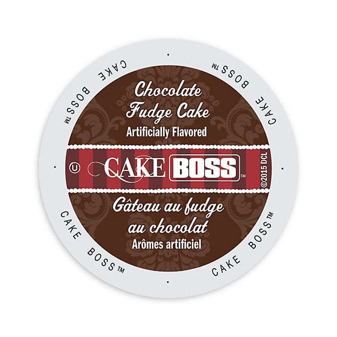 Alternate image 1 for 96-Count Cake BOSS™ Chocolate Fudge Cake Coffee for Single Serve Coffee Makers