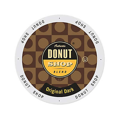 Authentic Donut Shop® Blend Dark Roast Coffee for Single Serve Coffee Makers