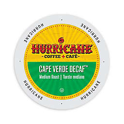 Hurricane Coffee Cape Verde Decaf Coffee for Single Serve Coffee Makers