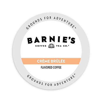 Barnie's Coffee Kitchen Creme Brule Coffee for Single Serve Coffee Makers