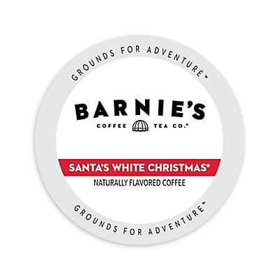 Barnie's Coffee Kitchen Santa's White Christmas Single Serve Coffee