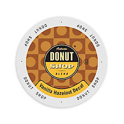 Authentic Donut Shop Decafeinated Vanilla Hazelnut Coffee for Single Serve Coffee Makers