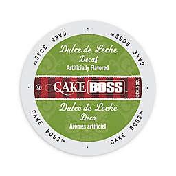 Cake BOSS™ Decaf Dulce De Leche Coffee for Single Serve Coffee Makers