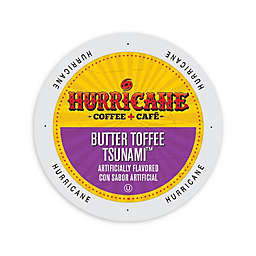 Hurricane Coffee & Tea Butter Toffee Tsunami Coffee for Single Serve Coffee Makers