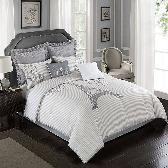 Buy Farmhouse Paris 8 Piece California King Comforter Set