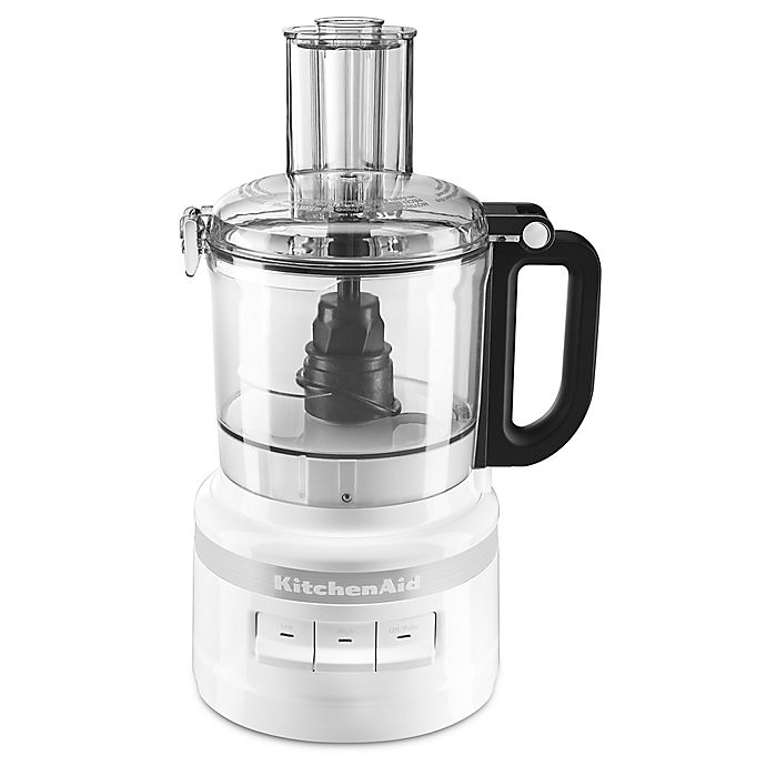 Alternate image 1 for KitchenAid® 7-Cup Food Processor in White