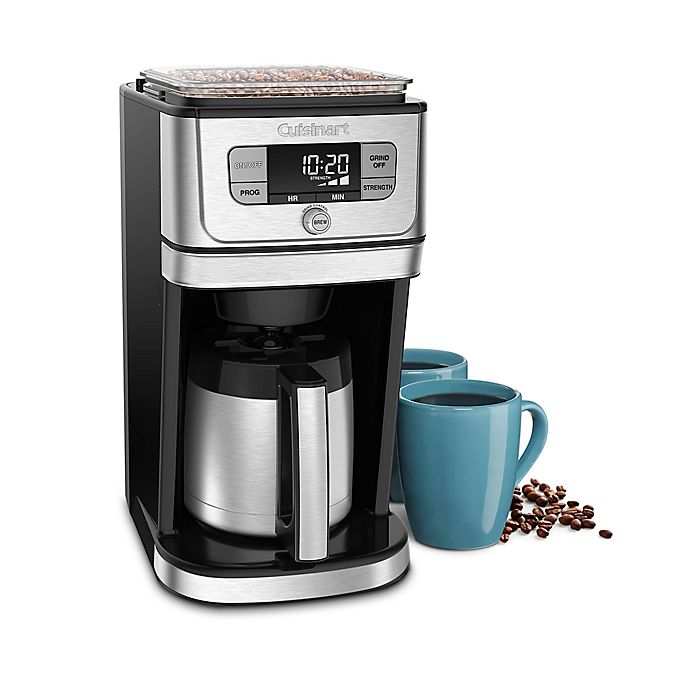 Alternate image 1 for Cuisinart® Grind 'N Brew 10-Cup Thermal™ Coffee Maker