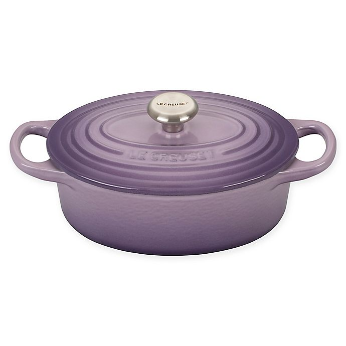 Alternate image 1 for Le Creuset® Signature 1qt. Oval Dutch Oven in Provence