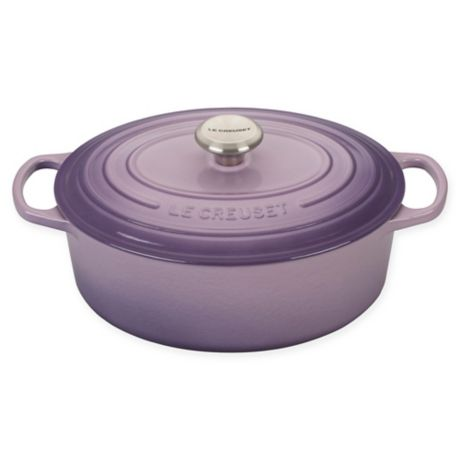 Le Creuset Signature Cast Iron Oval Dutch Oven Bed Bath Beyond