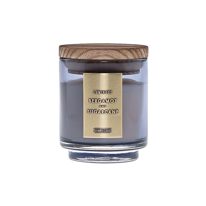 Alternate image 1 for DW Home Bergamot and Sugarcane Wood-Accent 4 oz. Jar Candle in Grey