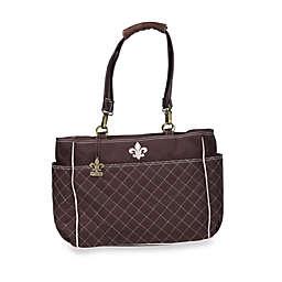 Kalencom N'Orleans Diaper Bag in Chocolate/Pink