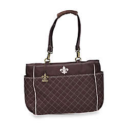 Kalencom N'Orleans Diaper Bag in Chocolate/Pink