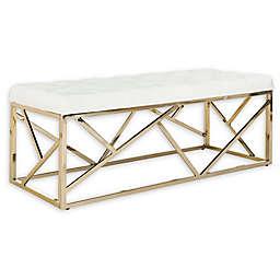Safavieh Farah Velvet Upholstered Bench
