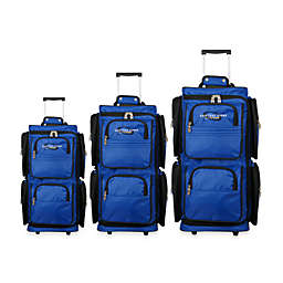Geoffrey Beene 3-Piece Wheeled Duffle Travel Set
