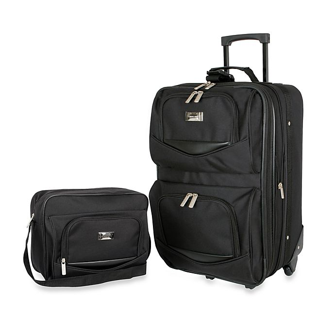 Alternate image 1 for Geoffrey Beene 2-Piece Main Street Luggage Set