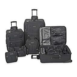 Geoffrey Beene 6-Piece Main Street Luggage Set in Black