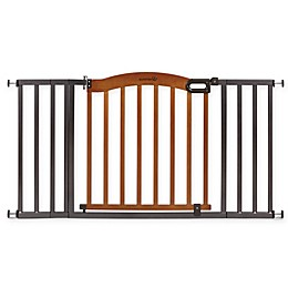 Summer Infant Decorative Wood & Metal 5-Foot Pressure Mounted Gate