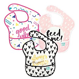 Bumkins® 3-Pack SuperBib in Always Hungry/Feed Me/Good Vibes
