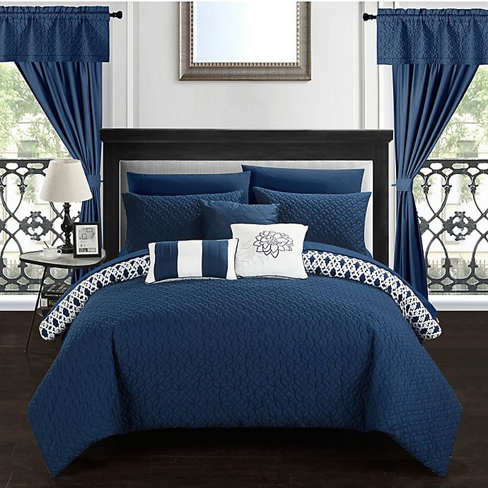 Alternate image 1 for Chic Home Ami 20-Piece Reversible Comforter Set
