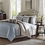 Madison Park Amherst King Duvet Cover Set in Blue
