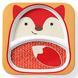 SKIP*HOP® Zoo Fox Divided Plate