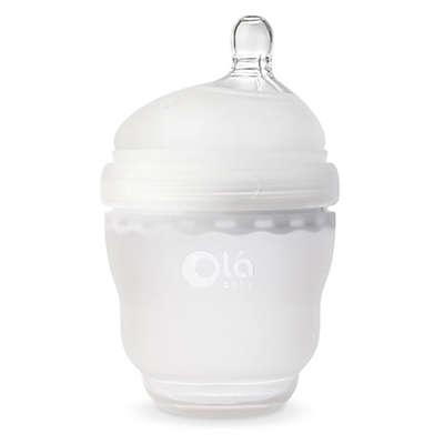 Olababy® GentleBottle 4 fl. oz. Silicone Wide-Neck Bottle