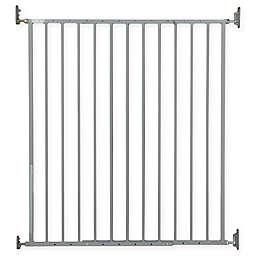 Storkcraft Easy Walk-Thru Tall Metal Safety Gate in Grey