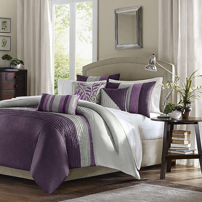 Alternate image 1 for Amherst King Duvet Set in Purple