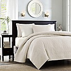 Madison Park Quebec Full/Queen Ivory Coverlet Set
