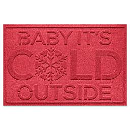 """Weather Guard™ Baby It's Cold 23"""" x 35"""" Door Mat"""