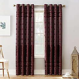 Sun Zero® Elidah Grommet Blackout Window Curtain Panel