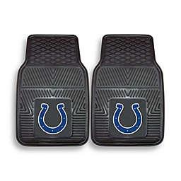 NFL Indianapolis Colts Vinyl Car Mats (Set of 2)