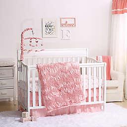 The Peanutshell™ Jayden 4-Piece Crib Bedding Set in Light Coral