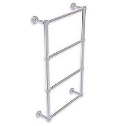 Allied Brass Waverly Place Collection Ladder Towel Bar with Dotted Detail